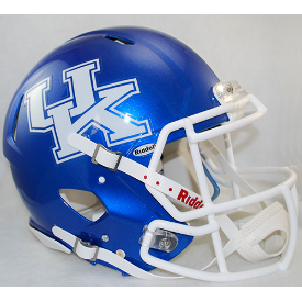 Kentucky Wildcats Riddell Speed Authentic Full Size Football Helmet