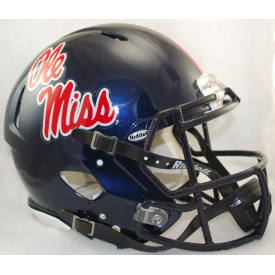 Mississippi (Ole Miss) Rebels Riddell Speed Authentic Full Size Football Helmet