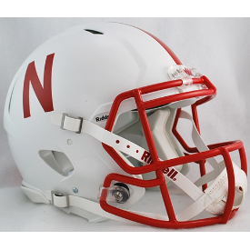 Nebraska Cornhuskers Riddell Speed Authentic Full Size Football Helmet
