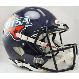 UTSA Roadrunners Riddell Speed Authentic Full Size Football Helmet
