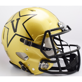 Vanderbilt Commodores Riddell Speed Authentic Full Size Football Helmet