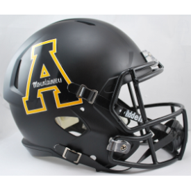 Appalachian State Mountaineers Riddell Speed Replica Full Size Football Helmet