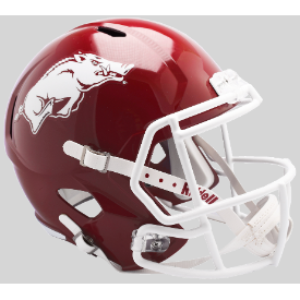 Arkansas Razorbacks Riddell Speed Replica Full Size Football Helmet