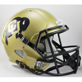 Colorado Buffaloes Riddell Speed Replica Full Size Football Helmet