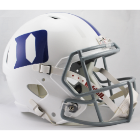 Duke Blue Devils Riddell Speed Replica Full Size Football Helmet