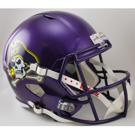 East Carolina Pirates Riddell Speed Replica Full Size Football Helmet