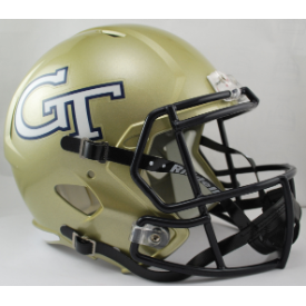 Georgia Tech Yellow Jackets Riddell Speed Replica Full Size Football Helmet