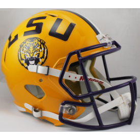 LSU Tigers Riddell Speed Replica Full Size Football Helmet