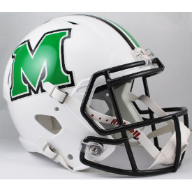 Marshall Thundering Herd Riddell Speed Replica Full Size Football Helmet
