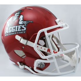 New Mexico State Aggies Riddell Speed Replica Full Size Football Helmet