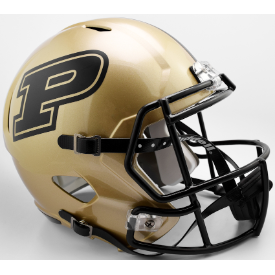 Purdue Boilermakers Riddell Speed Replica Full Size Football Helmet
