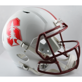 Stanford Cardinal Chrome Decal Riddell Speed Replica Full Size Football Helmet
