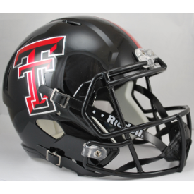Texas Tech Red Raiders Riddell Speed Replica Full Size Football Helmet