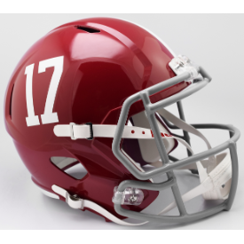 Alabama Crimson Tide Riddell Speed Replica Full Size Football Helmet