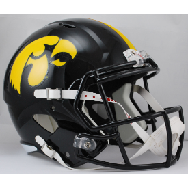 Iowa Hawkeyes Riddell Speed Replica Full Size Football Helmet
