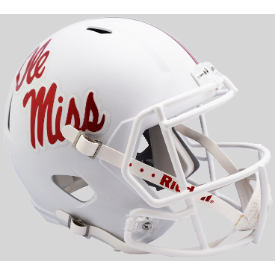 Mississippi (Ole Miss) Rebels 2018 Riddell Speed Replica Full Size Football Helmet