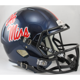 Mississippi (Ole Miss) Rebels Riddell Speed Replica Full Size Football Helmet