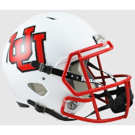 Utah Utes UU Riddell Speed Replica Full Size Football Helmet