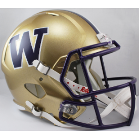 Washington Huskies Riddell Speed Replica Full Size Football Helmet