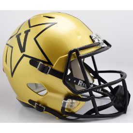 Vanderbilt Commodores Riddell Speed Replica Full Size Football Helmet