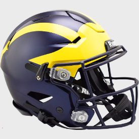 Michigan Wolverines Riddell SpeedFlex Authentic Full Size Football Helmet