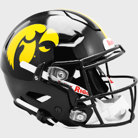 Iowa Hawkeyes Riddell SpeedFlex Authentic Full Size Football Helmet