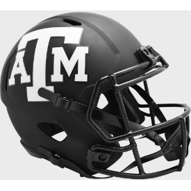Texas A&M Aggies Riddell Speed ECLIPSE Authentic Full Size Football Helmet