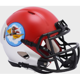 Air Force Falcons Tuskegee 301st Limited Edition Riddell Speed Mini Football Helmet