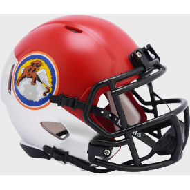 Air Force Falcons Tuskegee 100th Limited Edition Riddell Speed Mini Football Helmet