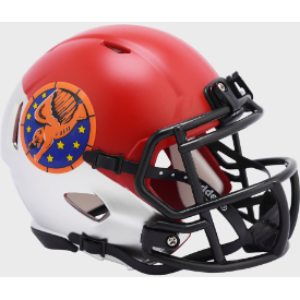 Air Force Falcons Tuskegee 99th Limited Edition Riddell Speed Mini Football Helmet