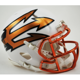 Arizona State Sun Devils Desert Ice Riddell Speed Mini Football Helmet