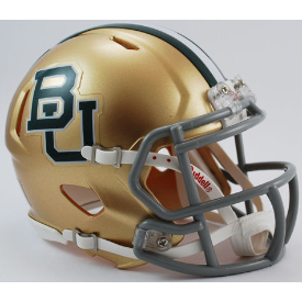 Baylor Bears Riddell Speed Mini Football Helmet