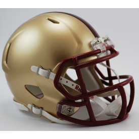 Boston College Golden Eagles Riddell Speed Mini Football Helmet