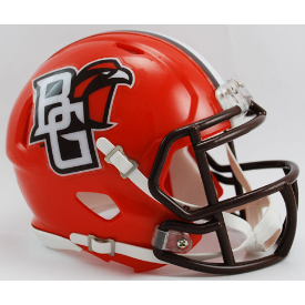 Bowling Green Falcons Riddell Speed Mini Football Helmet