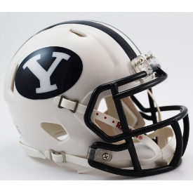 Brigham Young Cougars Riddell Speed Mini Football Helmet