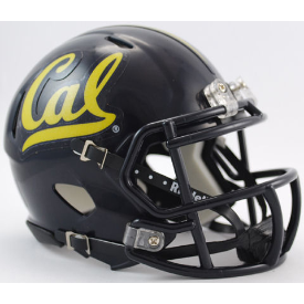 California (CAL) Golden Bears Riddell Speed Mini Football Helmet