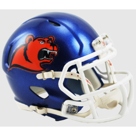 Coast Guard Bears Riddell Speed Mini Football Helmet