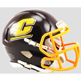 Central Michigan Chippewas New 2015 Riddell Speed Mini Football Helmet