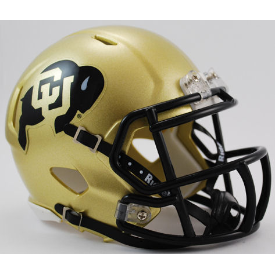 Colorado Buffaloes Riddell Speed Mini Football Helmet