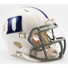Duke Blue Devils Riddell Speed Mini Football Helmet