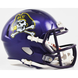 East Carolina Pirates Riddell Speed Mini Football Helmet