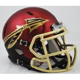 Florida State Seminoles Garnet and Black Riddell Speed Mini Football Helmet