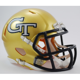 Georgia Tech Yellow Jackets Riddell Speed Mini Football Helmet