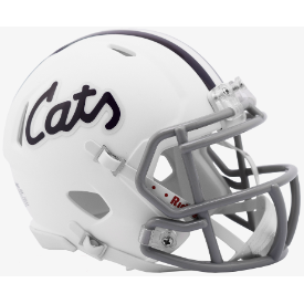 Kansas State Wildcats 'Cats Riddell Speed Mini Football Helmet