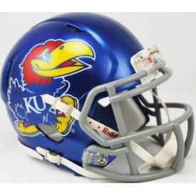 Kansas Jayhawks Riddell Speed Mini Football Helmet
