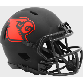 Louisville Cardinals Riddell Speed ECLIPSE Mini Football Helmet