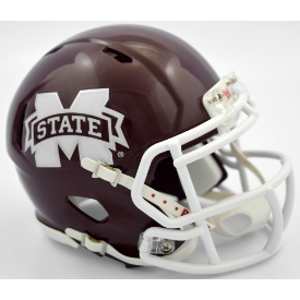 Mississippi State Bulldogs Riddell Speed Mini Football Helmet