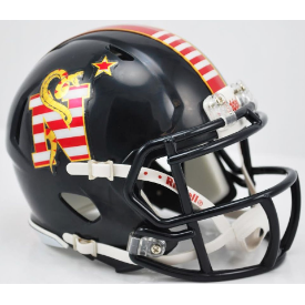 Navy Midshipmen Dont Tread On Me Riddell Speed Mini Football Helmet