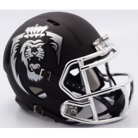 Old Dominion Monarchs Matte Black Riddell Speed Mini Football Helmet