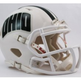 Ohio Bobcats Riddell Speed Mini Football Helmet